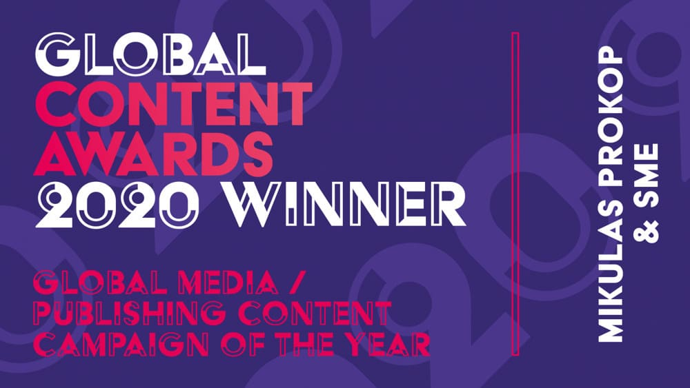 Mikulas Prokop, SEO Consultant, Winner of Global Content Awards 2020, News SEO Strategy fo www.sme.sk